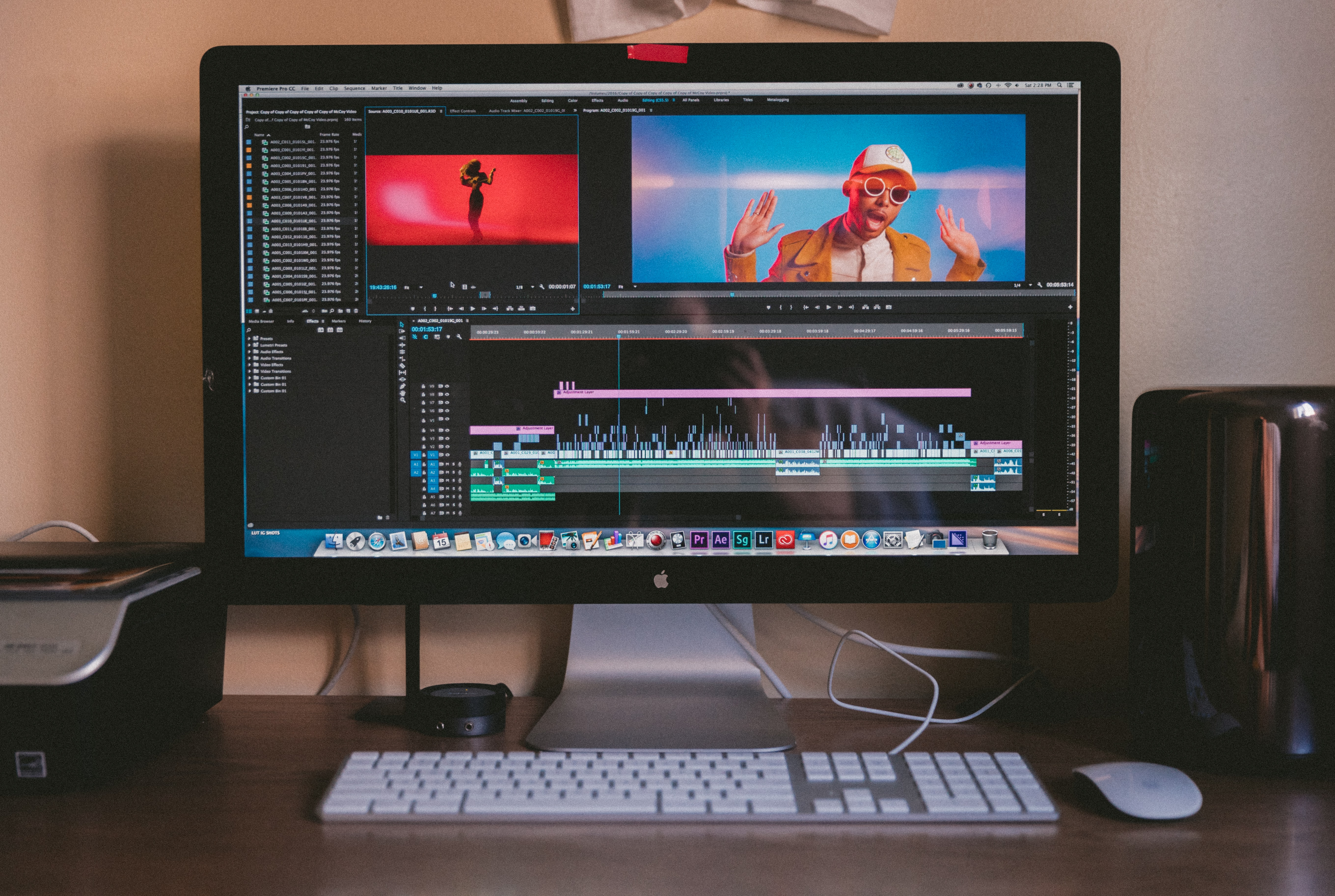 A video editing software.