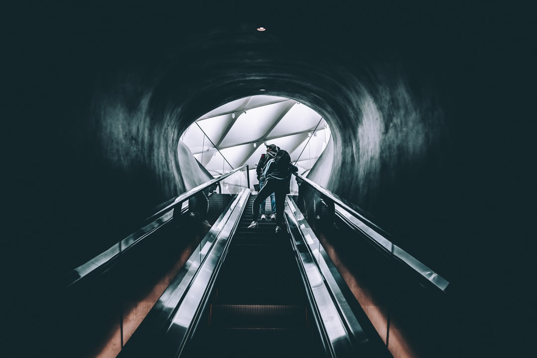 Escalator to the city