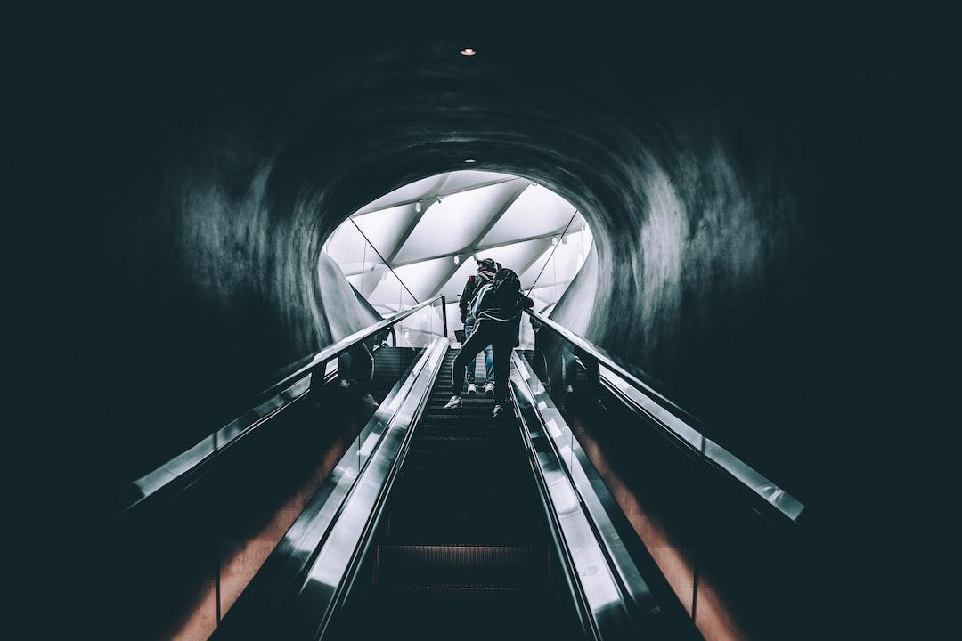 Escalator to the city