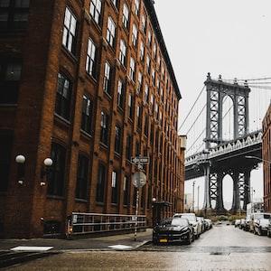 Manhattan through Dumbo