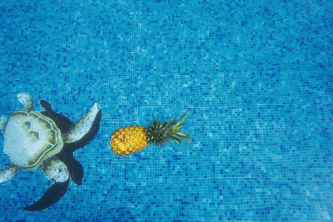 yellow pineapple fruit