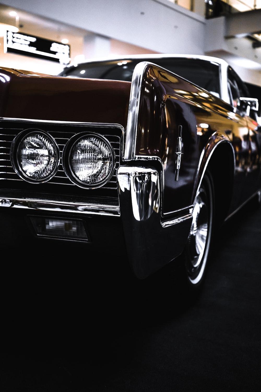 black car macro shot