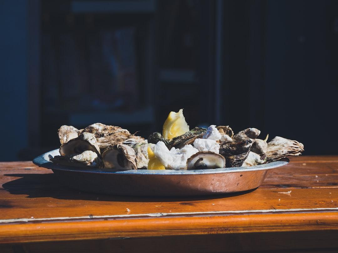 Oyster Plate @ Jean Talon Market