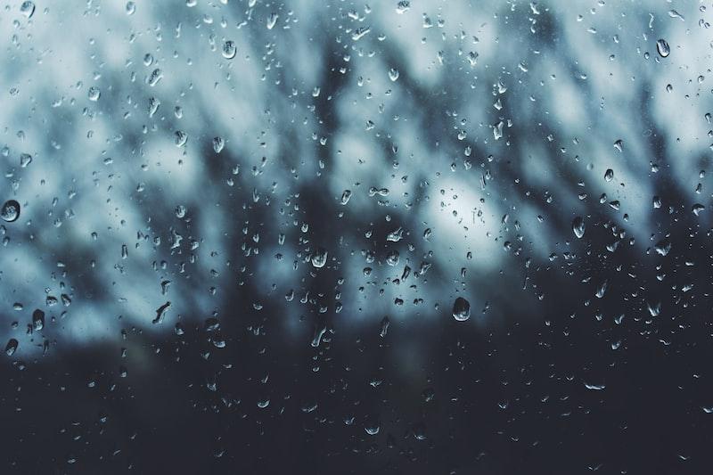 在虛恍的青春裡落下的雨水
