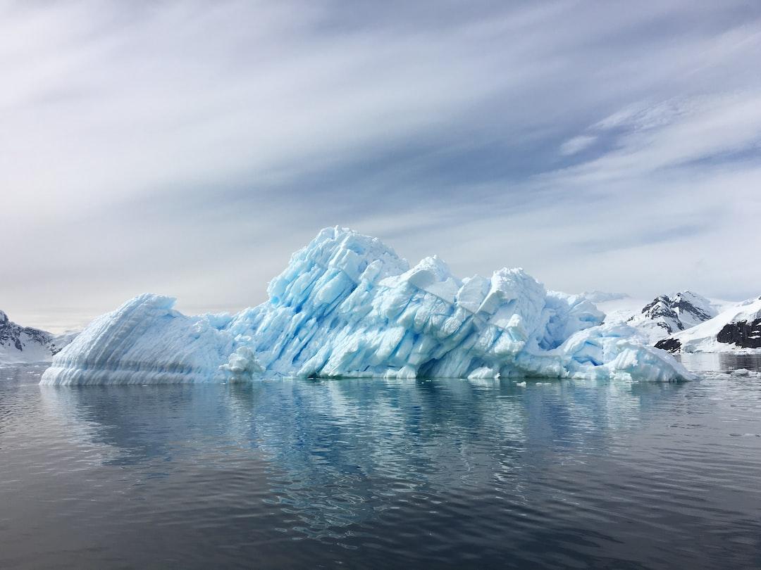 Fiery Iceberg