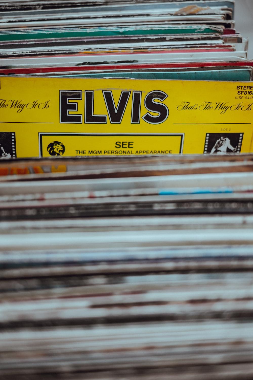 Elvis vinyl sleeve