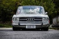 Audi car park on street