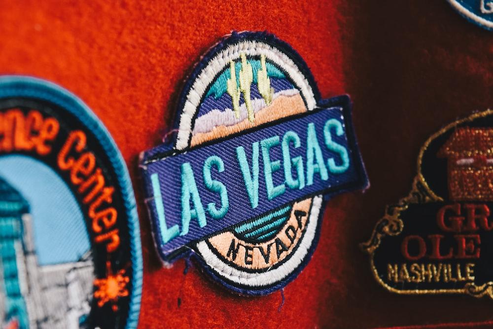 Las Vegas clothe patch