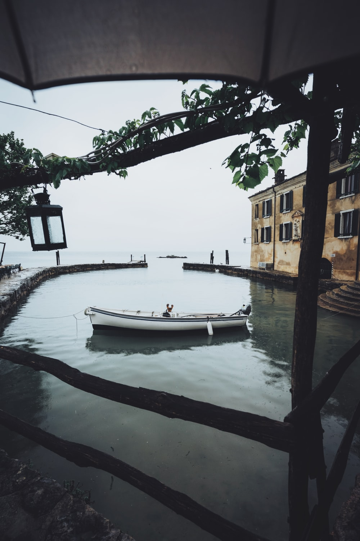 canoe near dock
