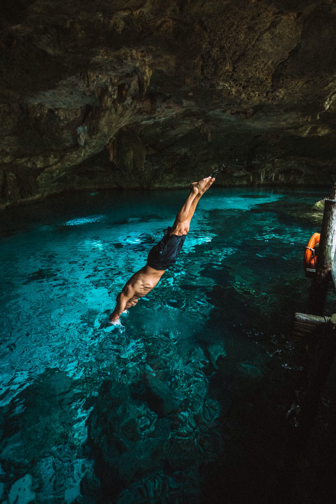 Diving into the Cenote