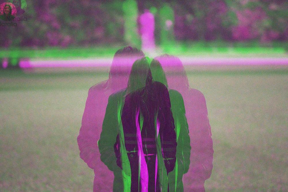 sephia photography of person