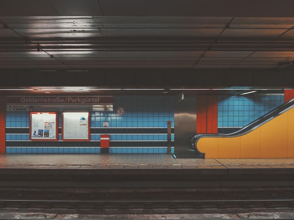 underground train station