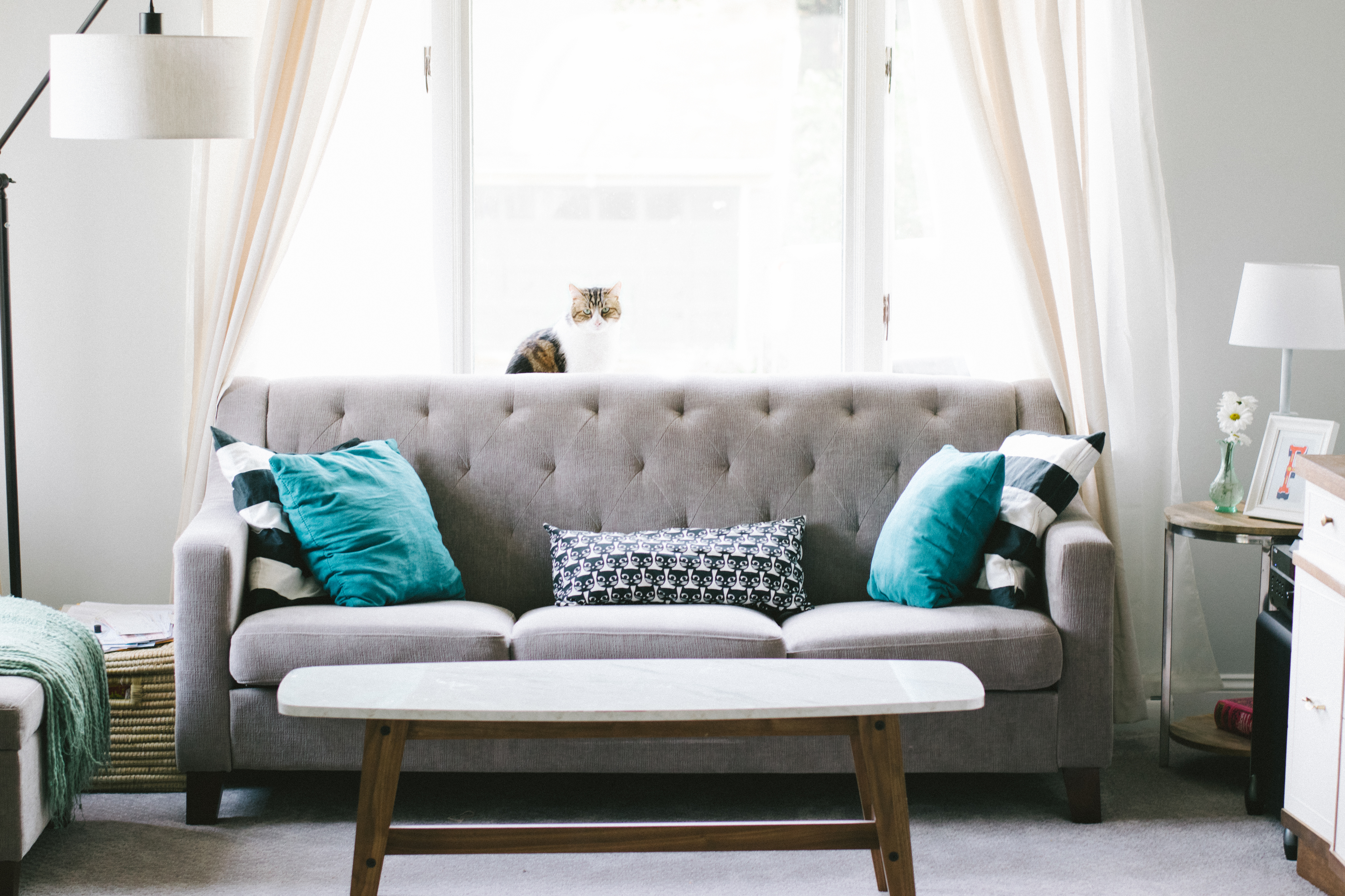 Home Decor Colors to Watch in 2018 - pastels, warm accents, jewel tones