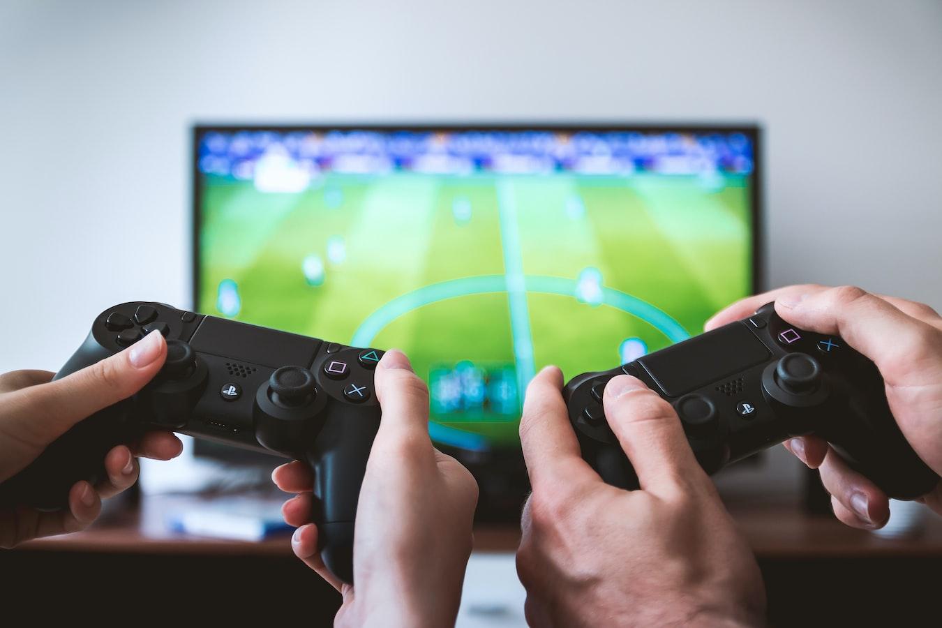 Hraní her na PlayStation