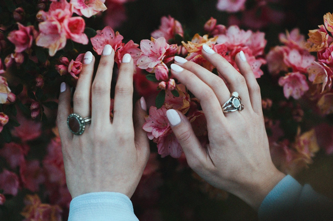 hands in the spring