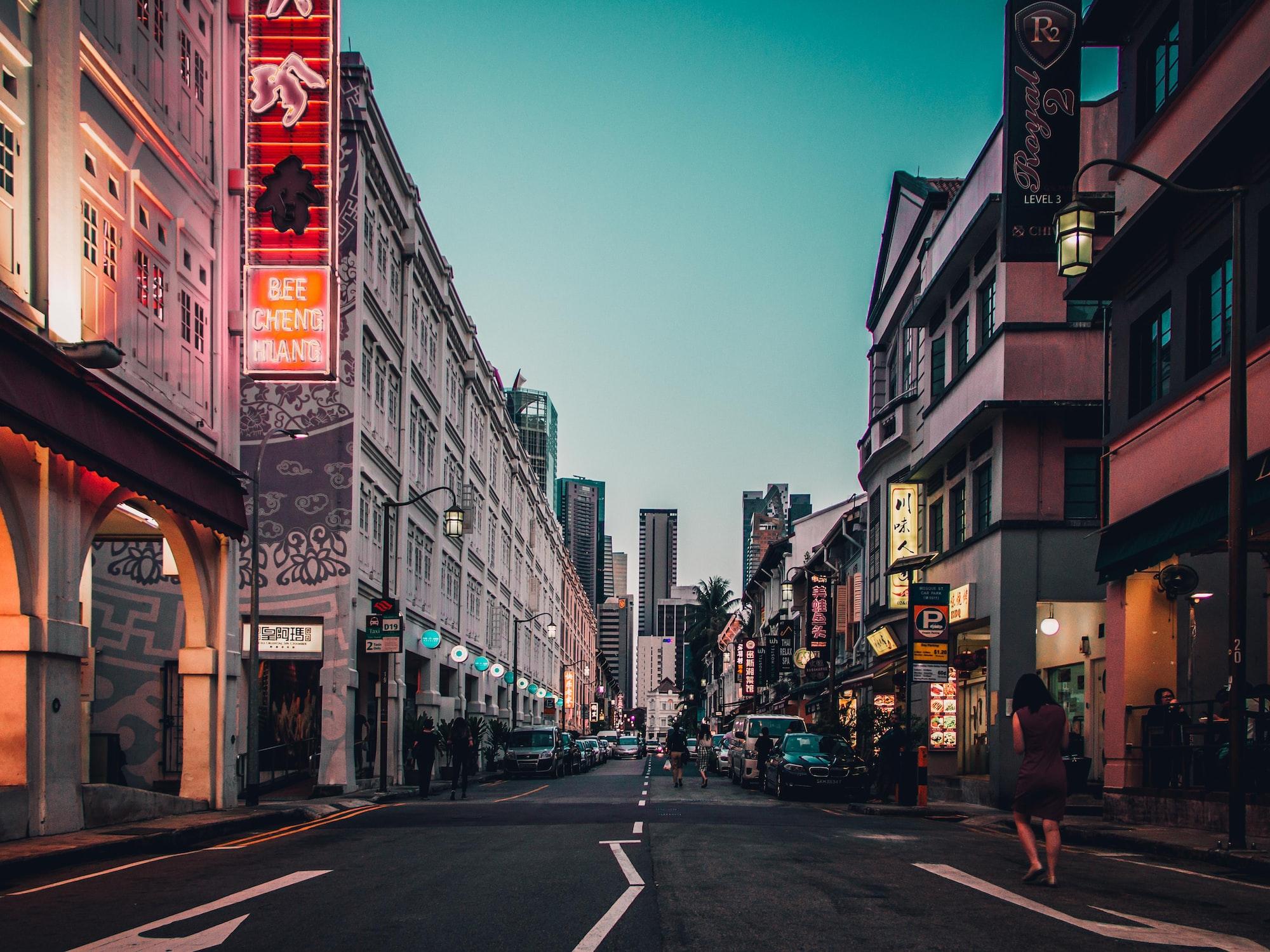Talk: Singapore Street Visualisation  with Open Data
