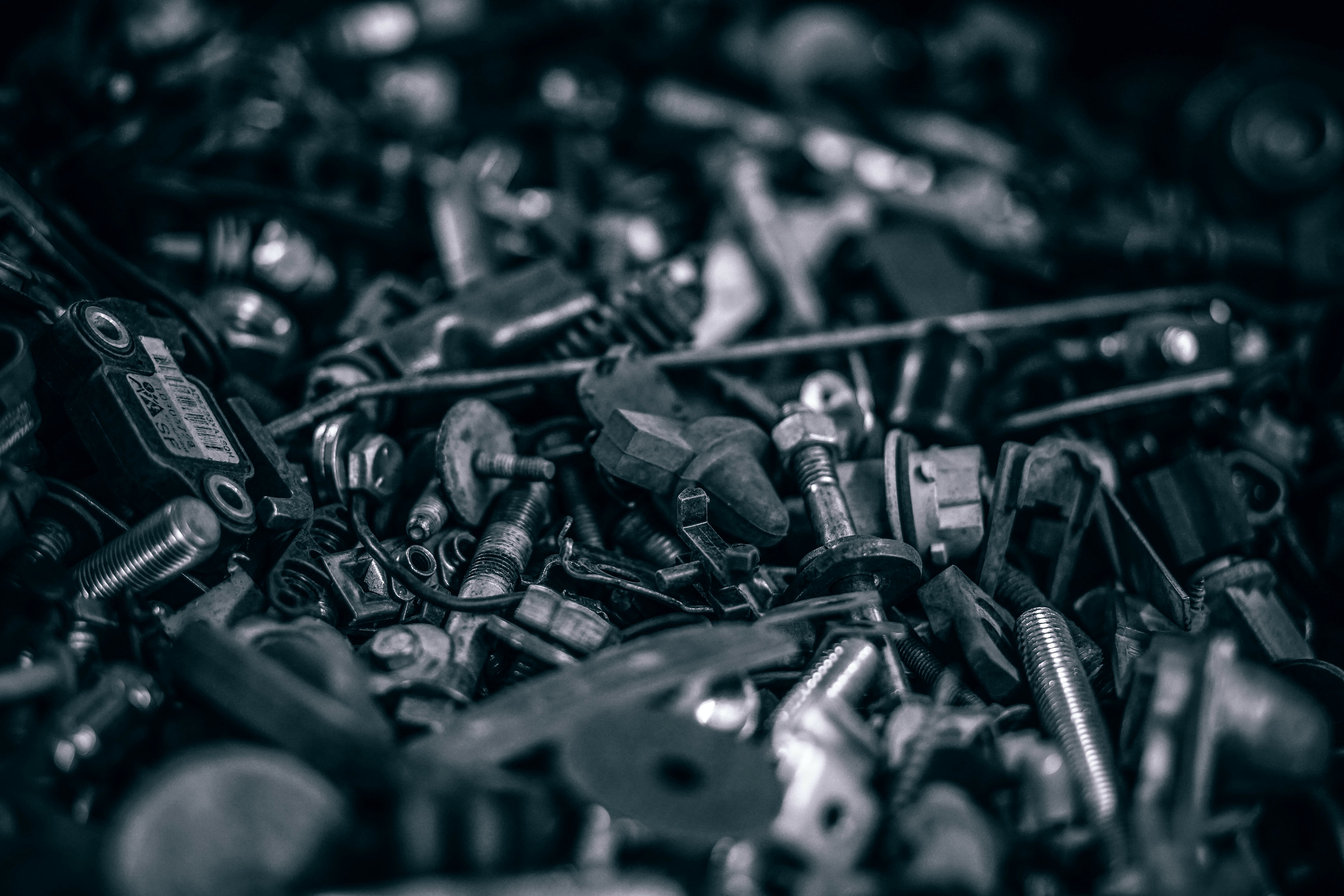 Load of old bolts