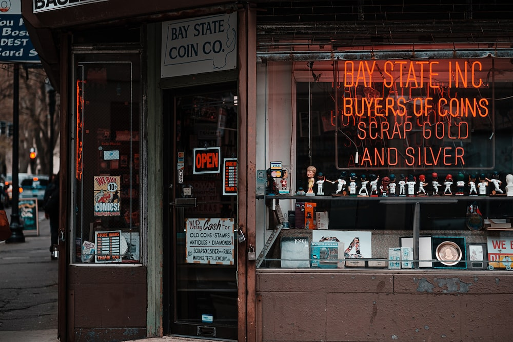 Bay State Inc. shopfront during day