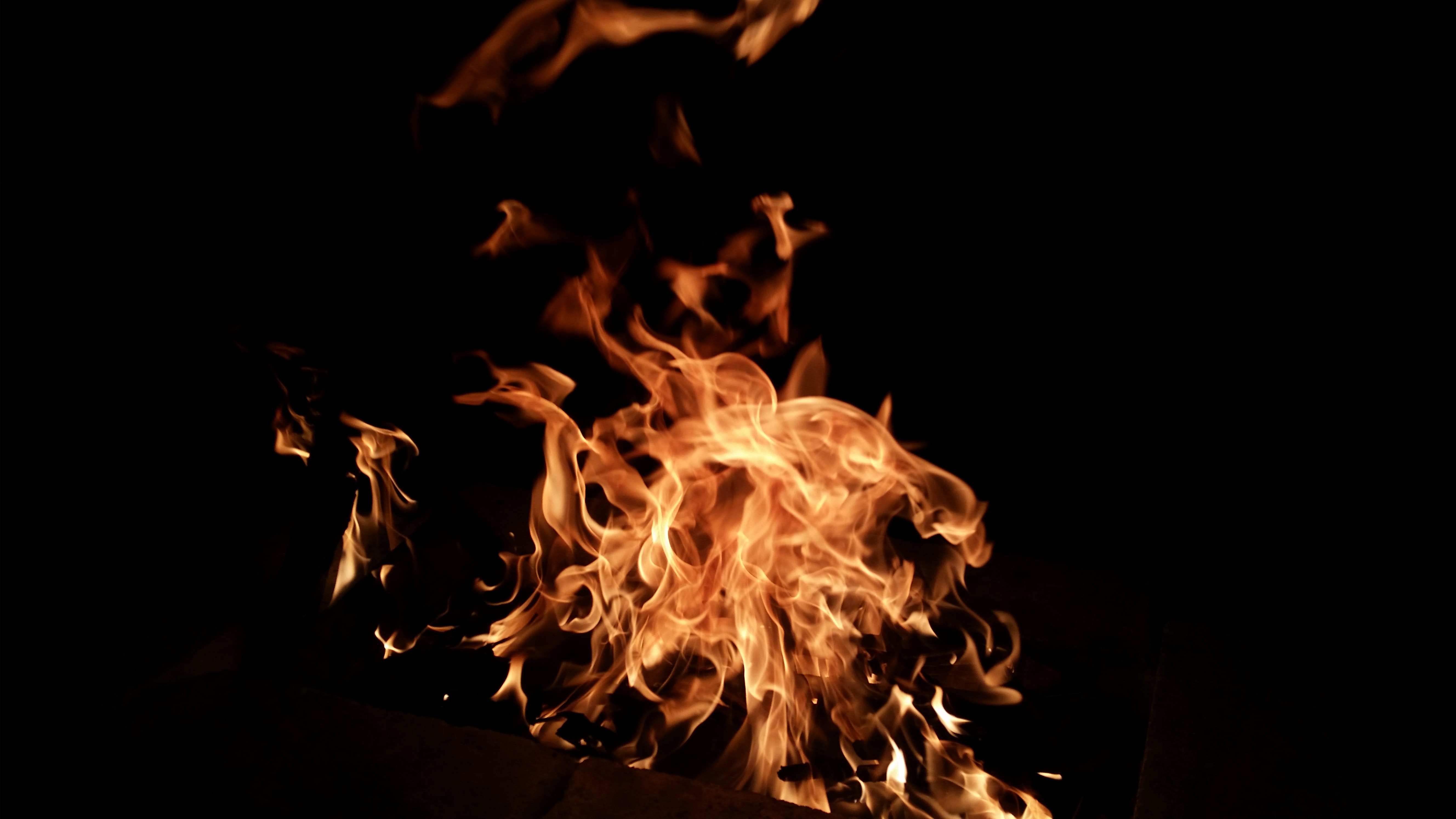 photo of flame