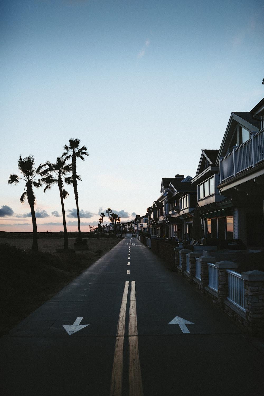 people walking on sidewalk near houses during daytime