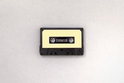 Retro style cassette