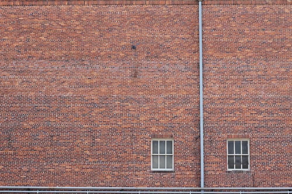 two closed window doors