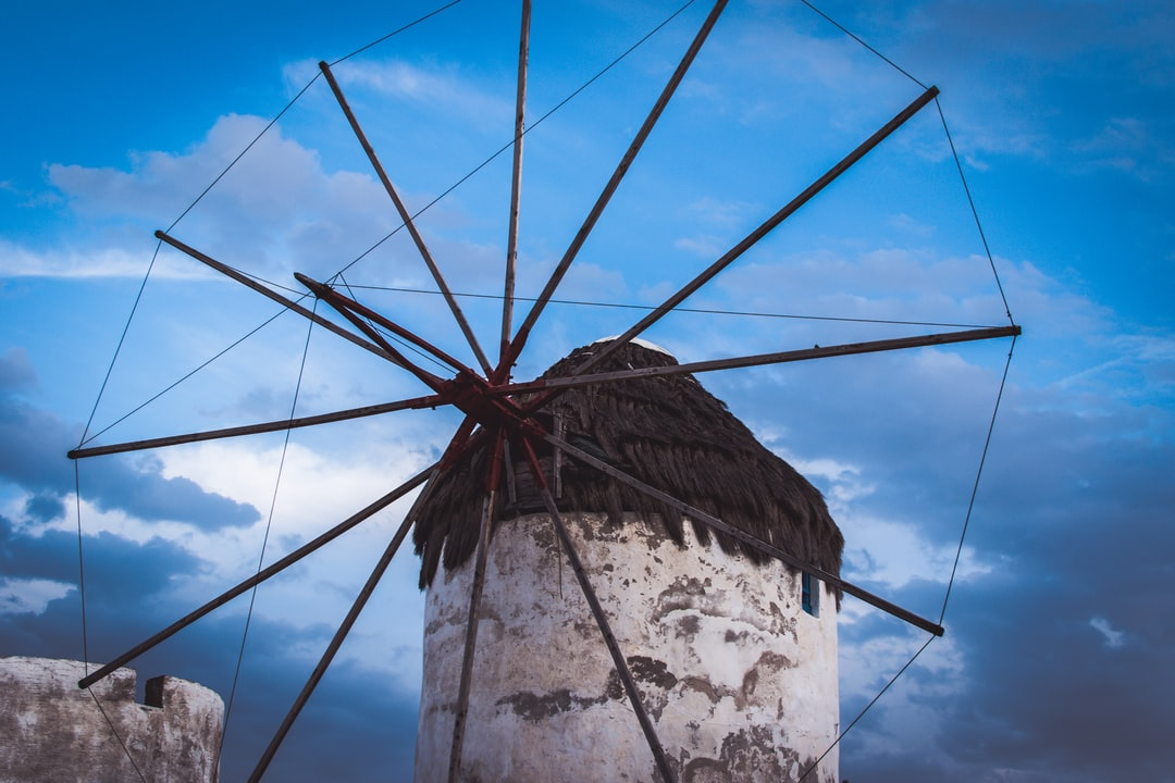If you ever visit Mykonos island you will notice these old and beautiful Windmills. One of the greatest points to shoot a photo.