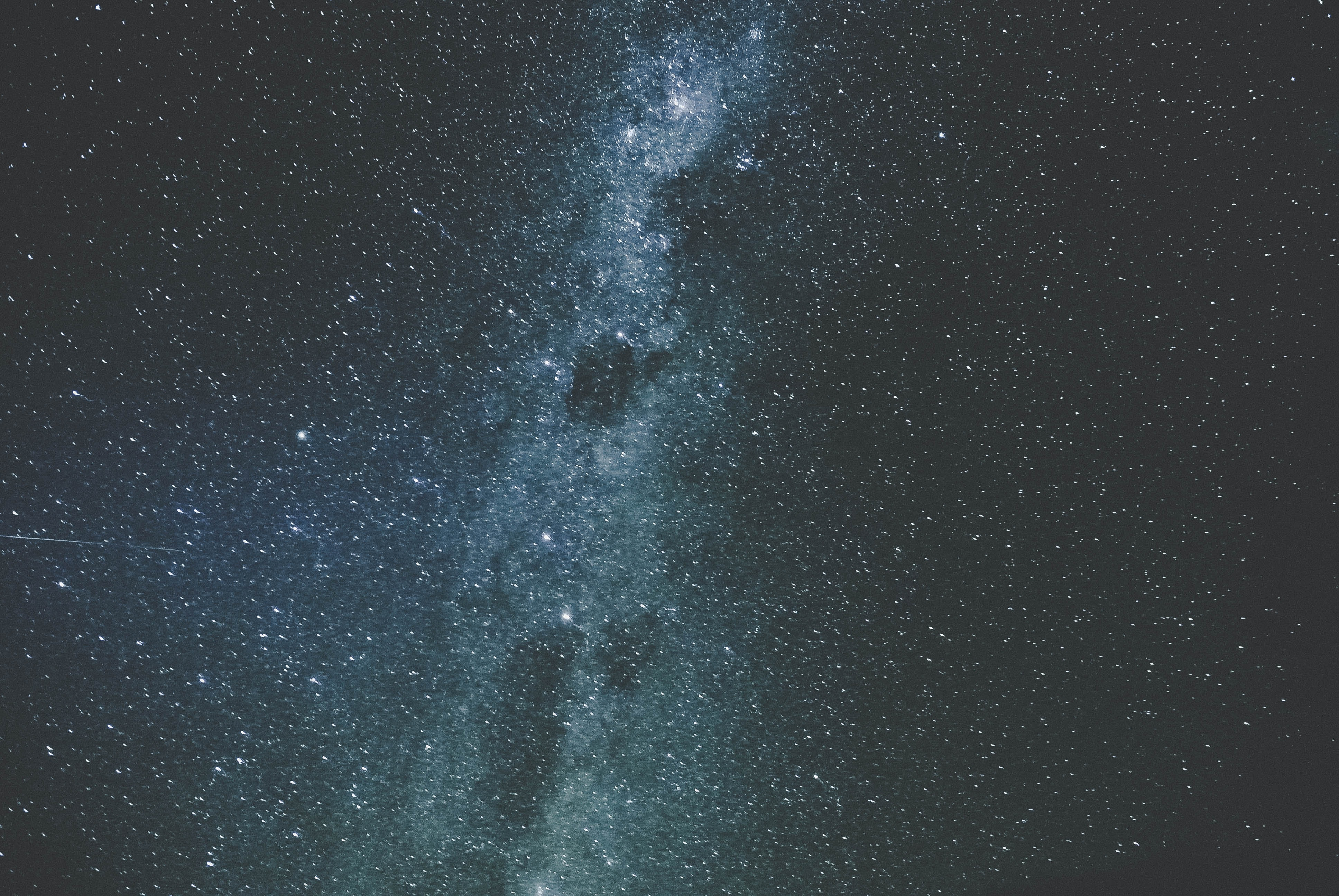 A closeup photograph of the Milky Way as seen from Wanaka.
