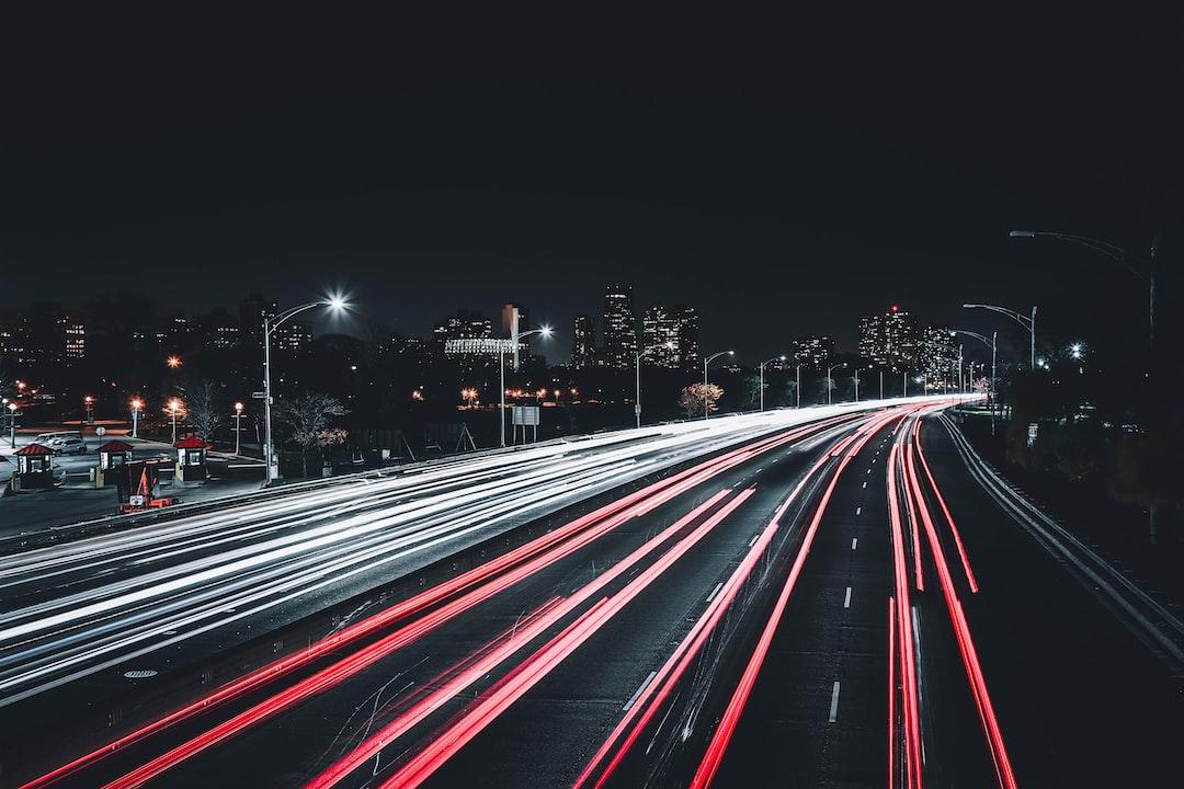 Traffic on Lakeshore Drive