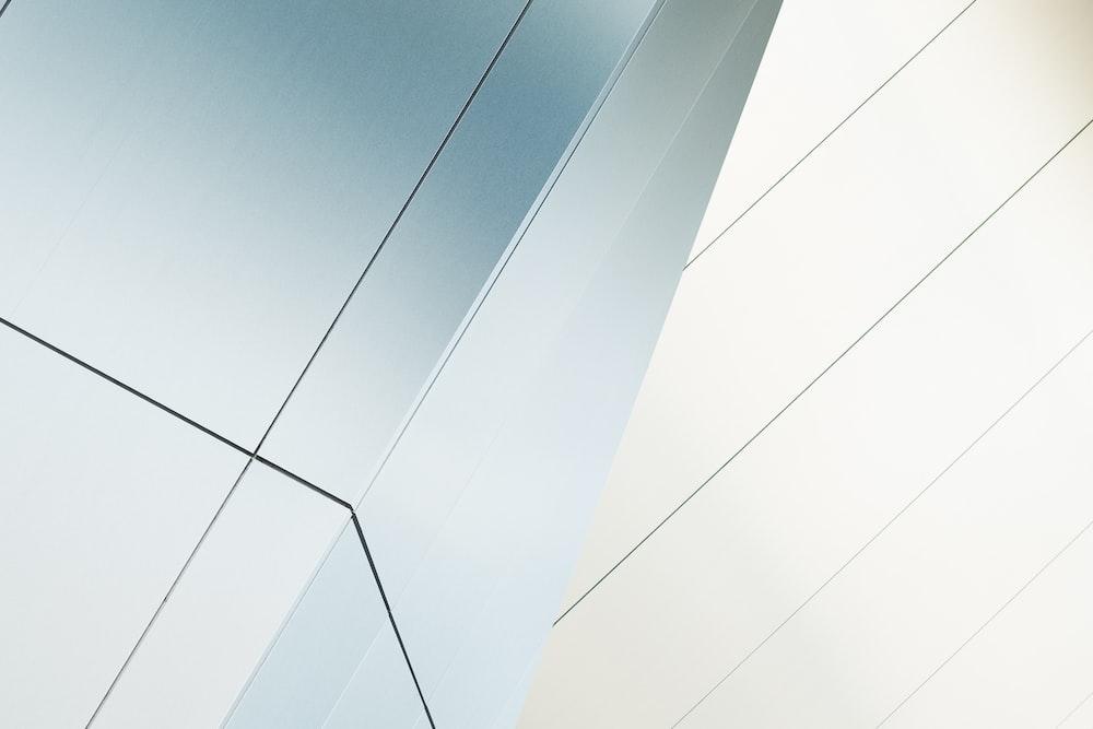 Interesting modern angular modern architecture at Akron Art Museum