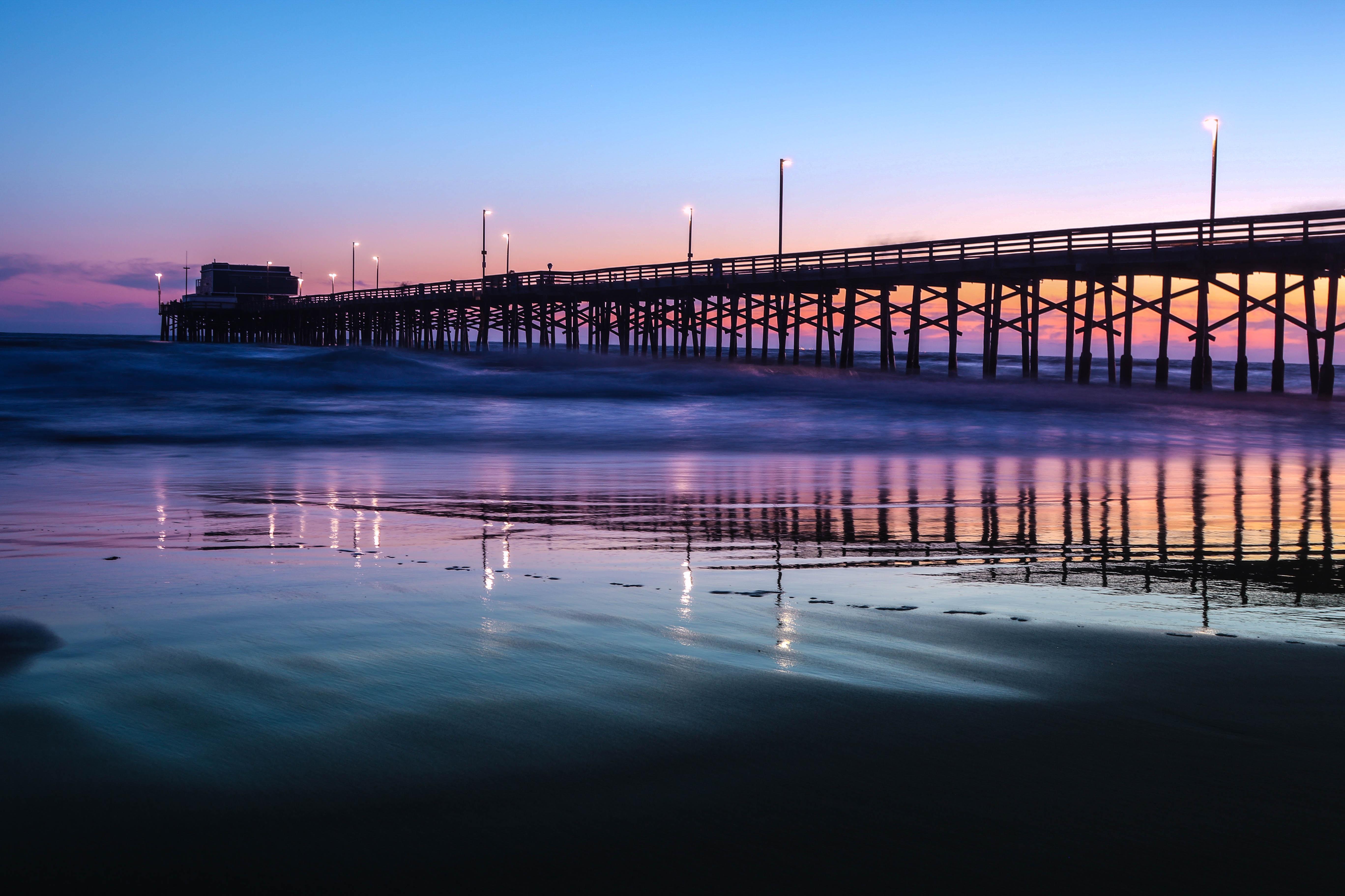 landscape photo of bridge