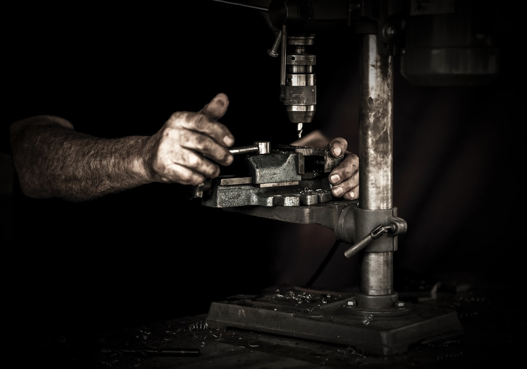 Drilling a Casting