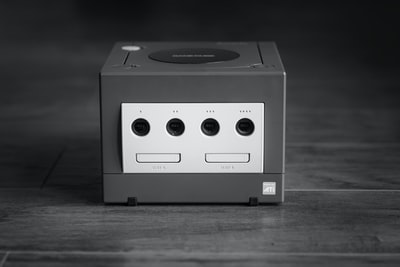 I love video games and gaming hardware, and the Nintendo Gamecube is one of my favourite console designs of all time. I went for a black and white photo as it makes me feel nostalgic about simpler times, even though the adorable purple colour of the console is lost in the process.
