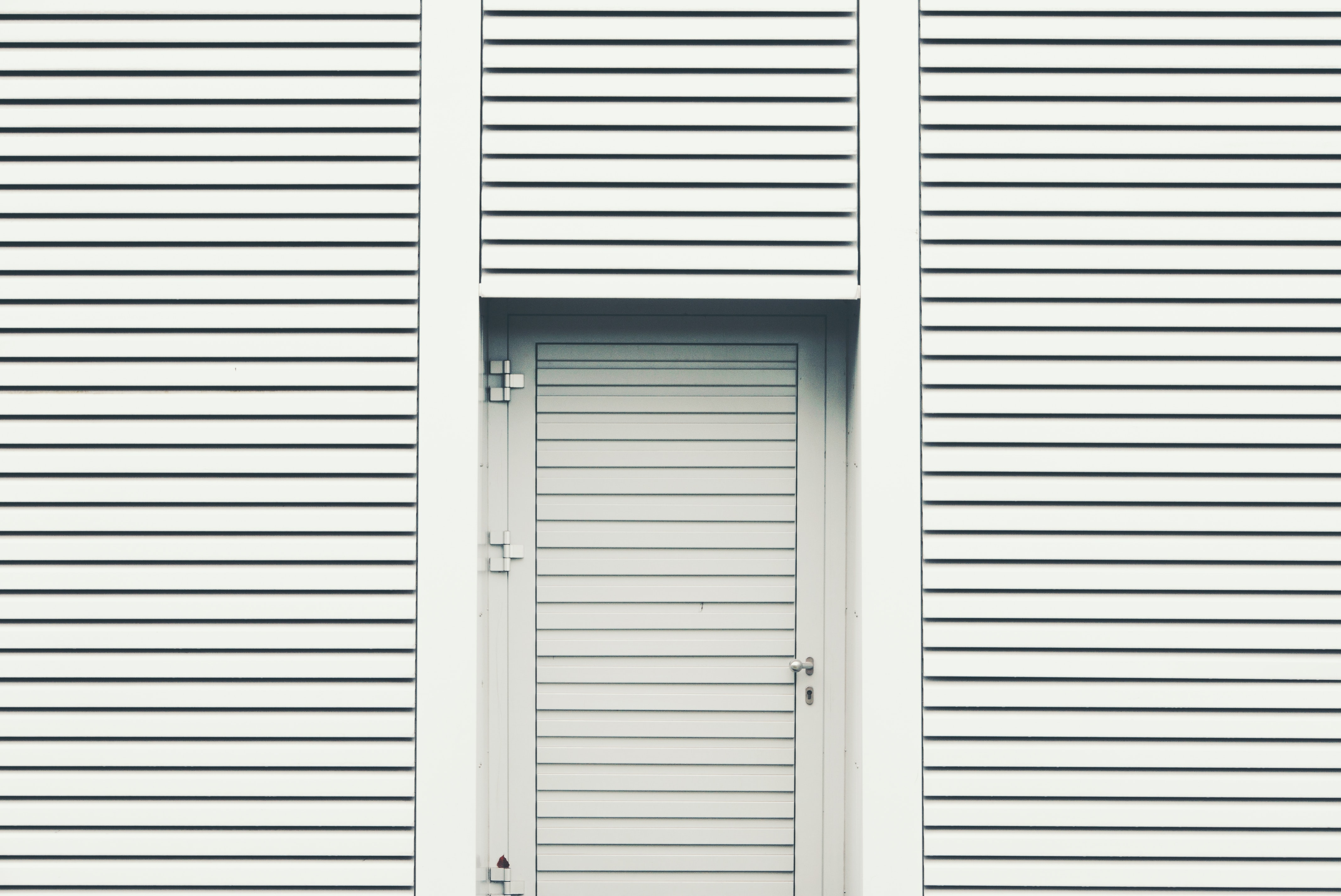 closed louver door