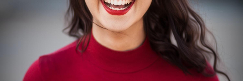 closeup photography of woman smiling
