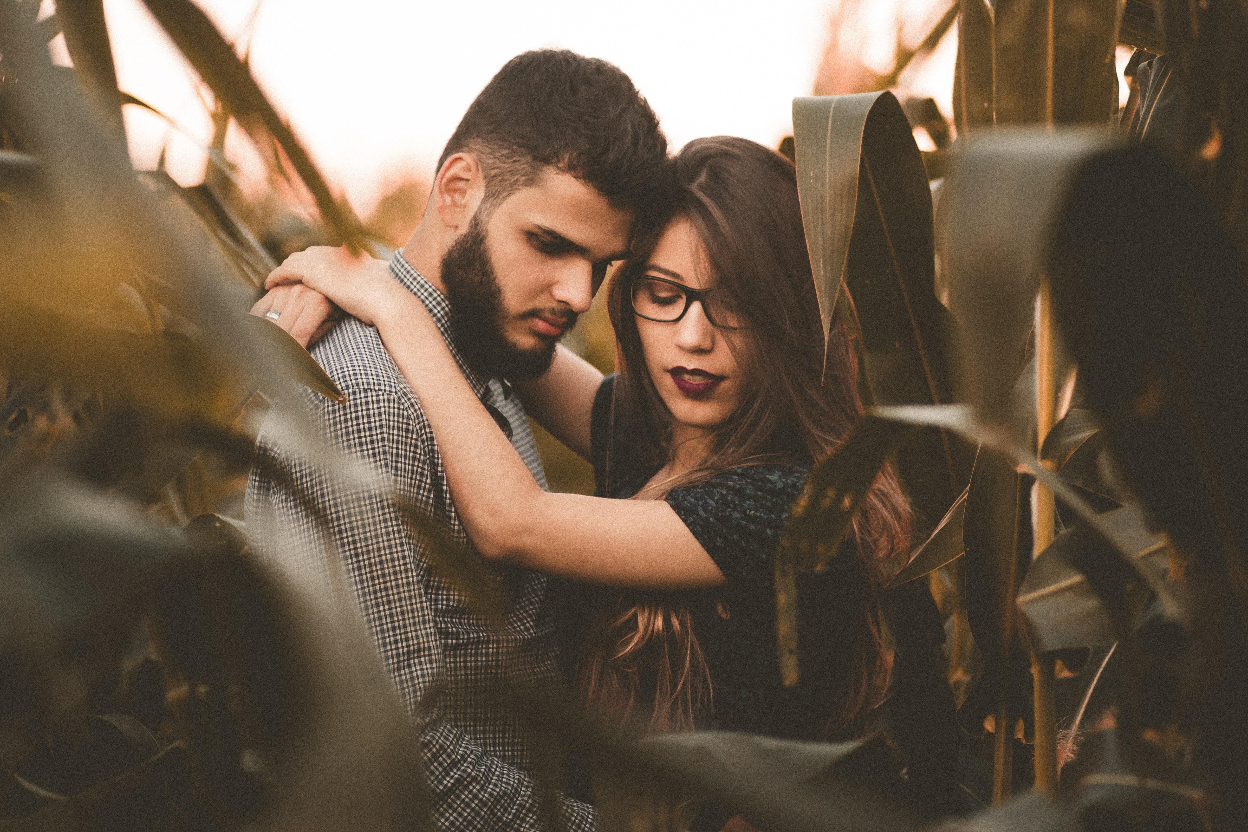 Romantic Embrace