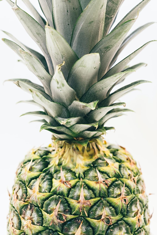 green pineapple fruit