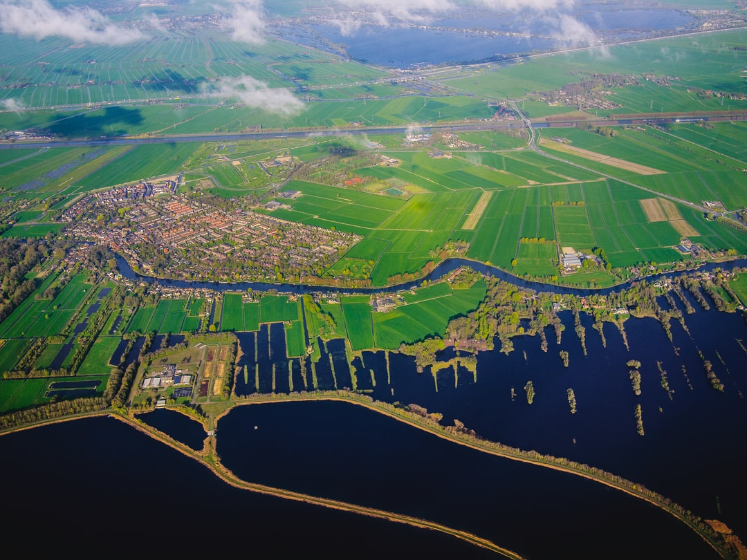 Flying over Netherlands