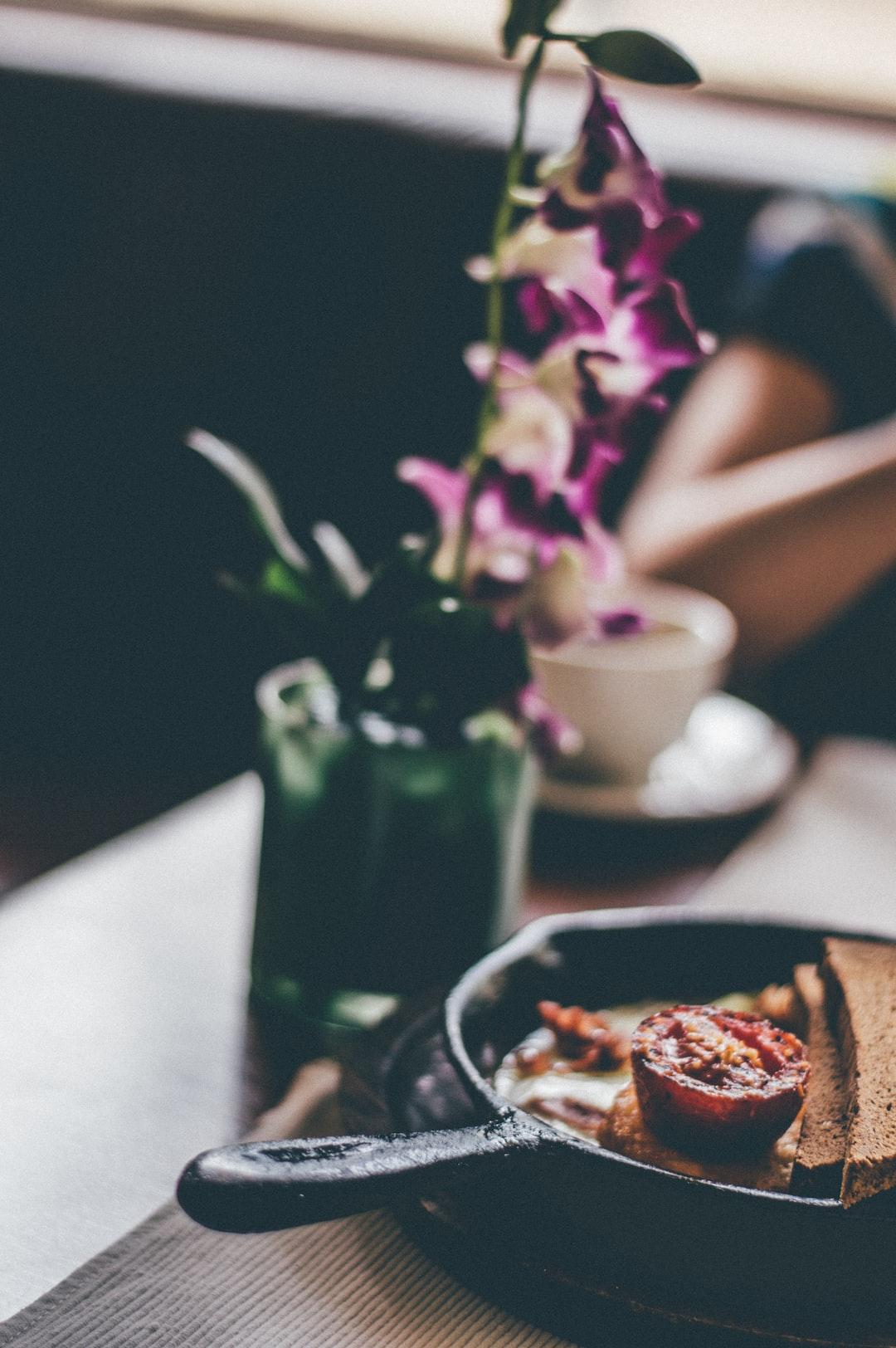 Flowery Breakfast