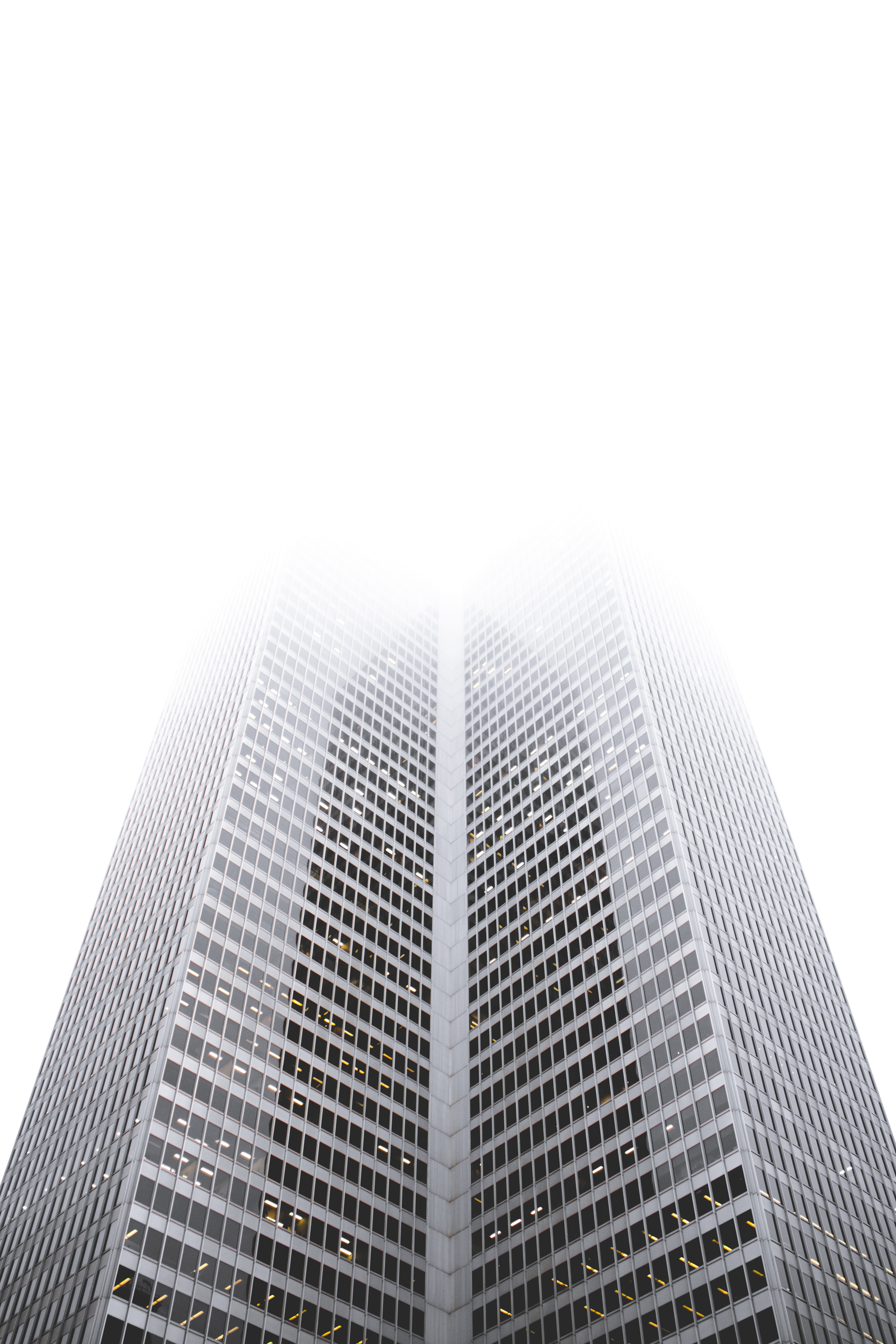 low angle view of high-rise building