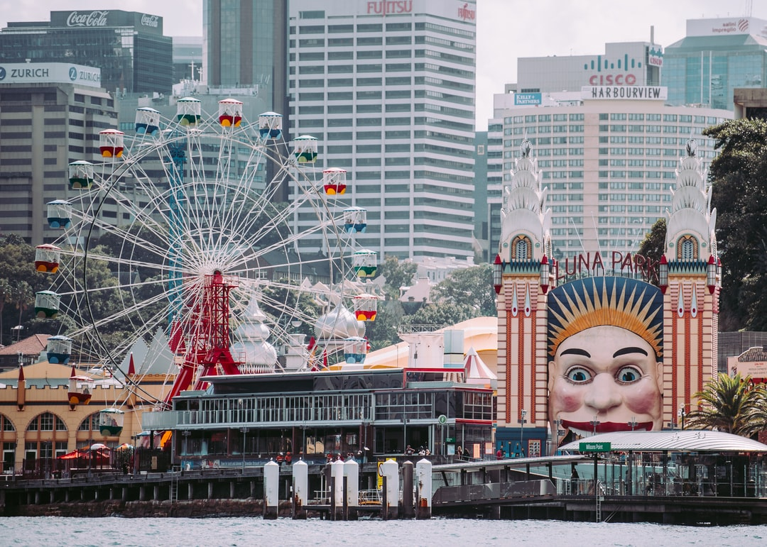 Luna theme park during daytime activity in Sydney