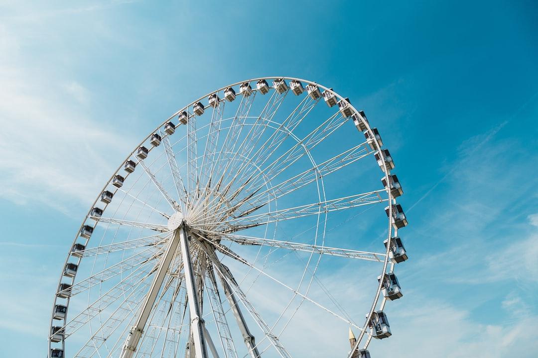 Ferris Wheel in Paris, France -  by tranmautritam