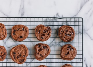 closeup photo of chocolate chip cookies