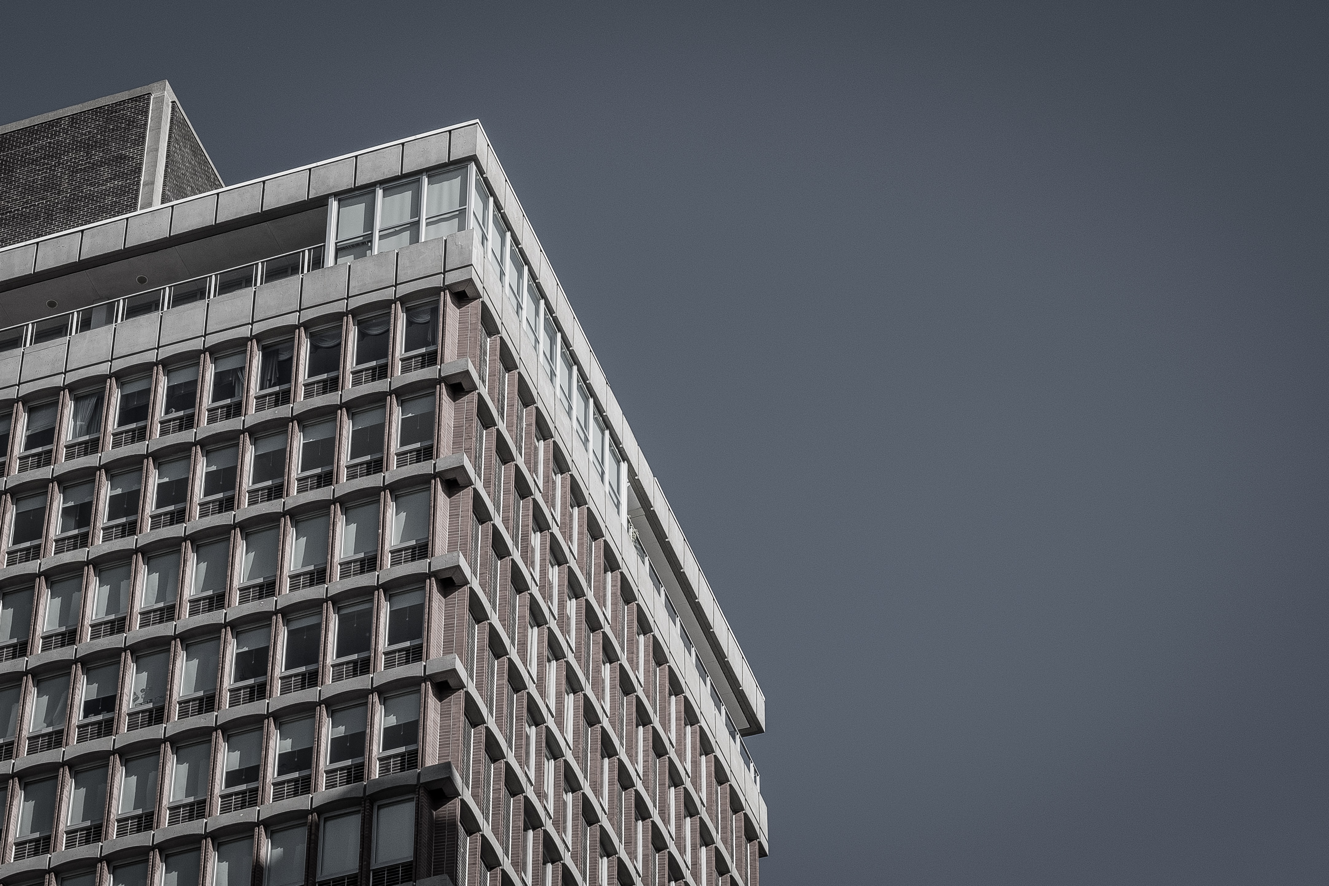 low-angle photography of high-rises building