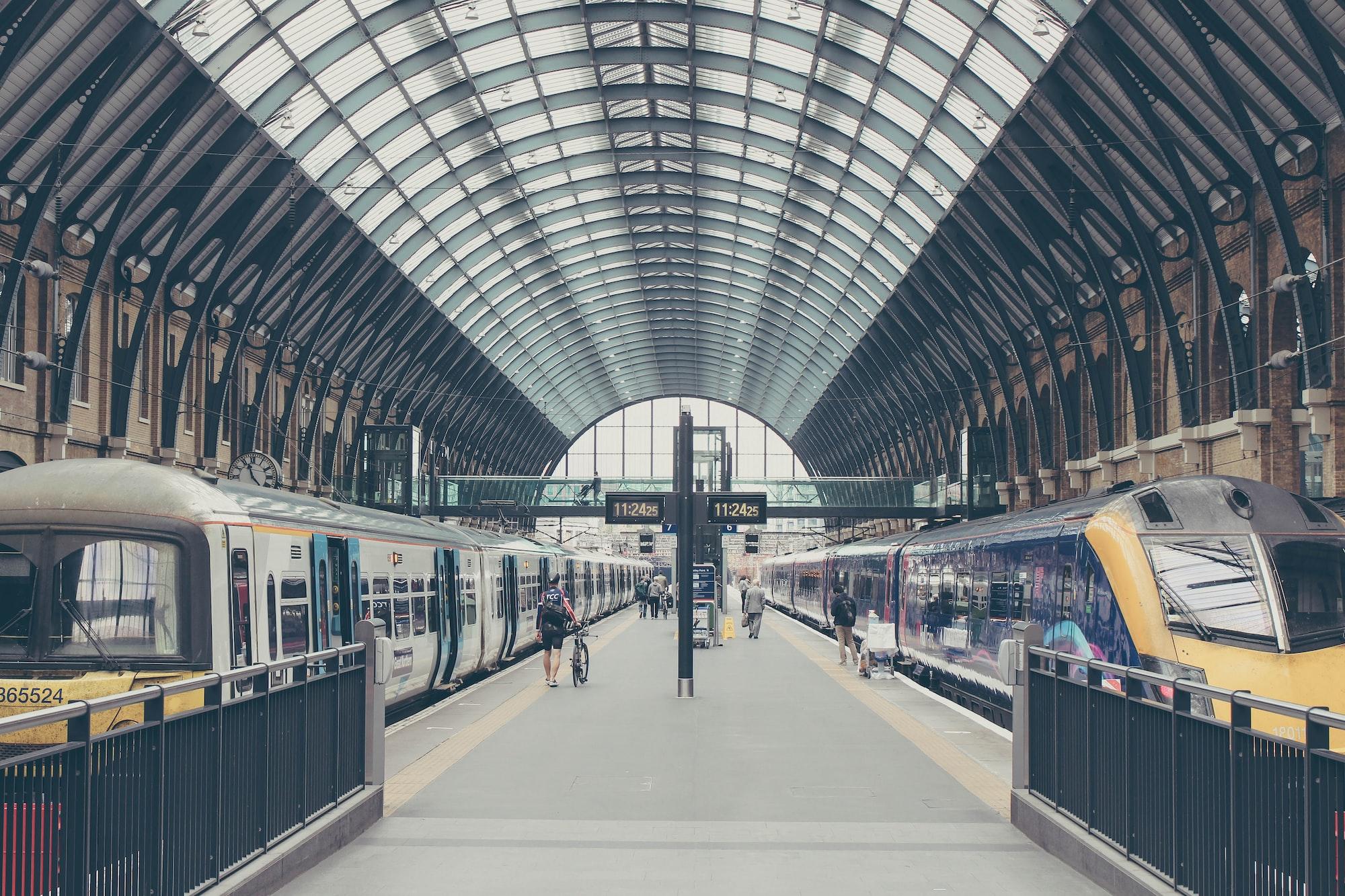 Bästa rutterna till europeiska städer med tåg