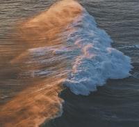 birds eye view of wave