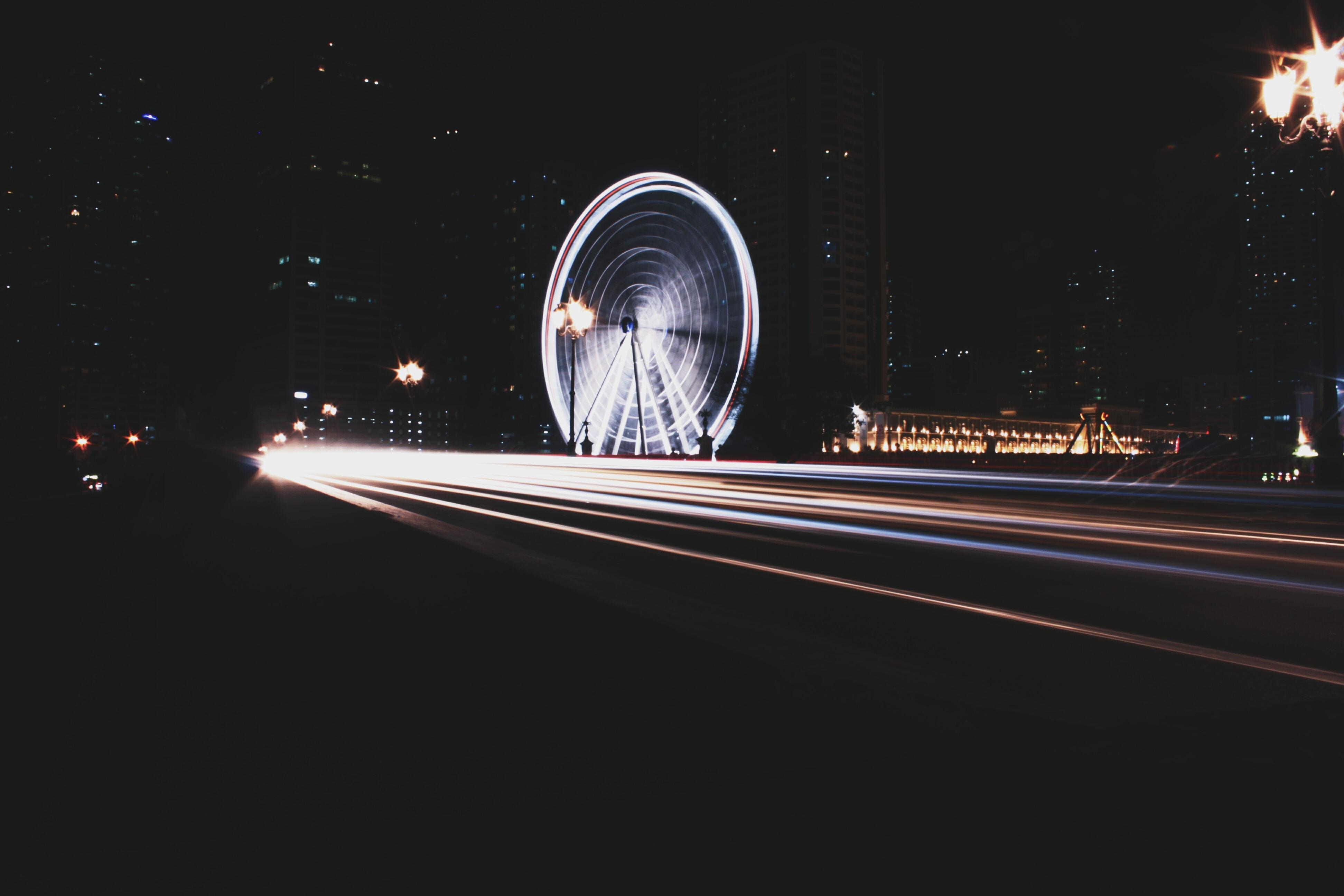 London Eye timelapse photography