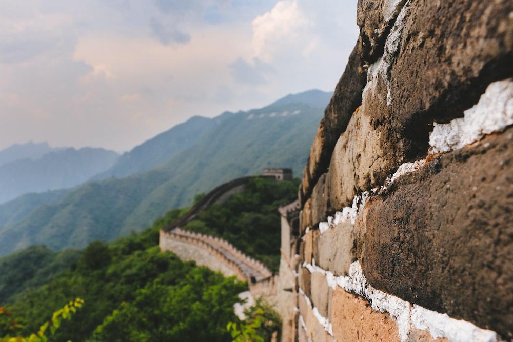 Great Wall Of China at daytime
