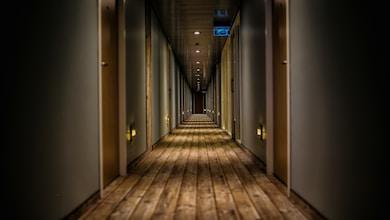 hallway of building