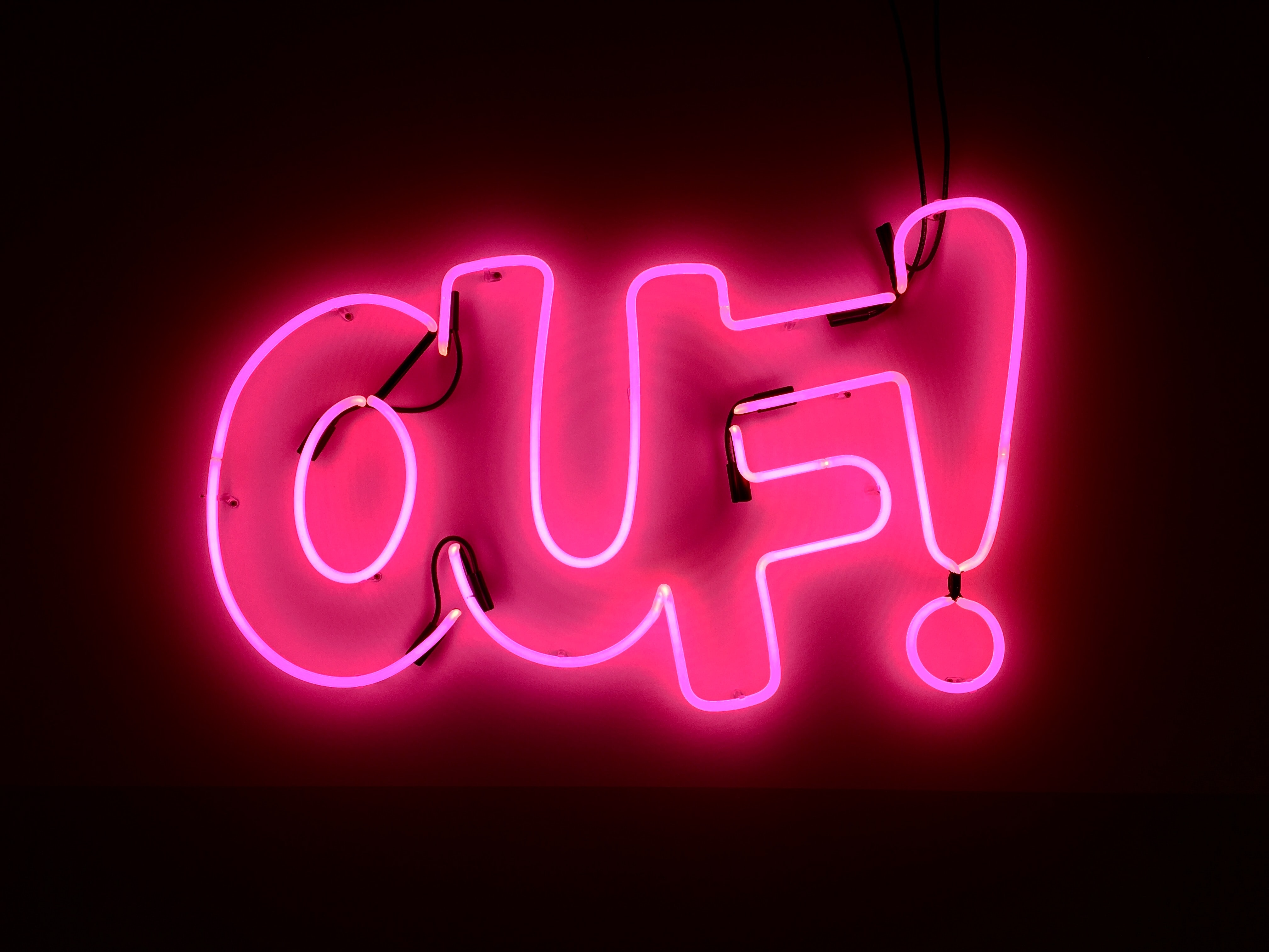 ouf light signage